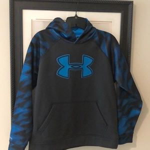 Boys under armour hoodie size YLG